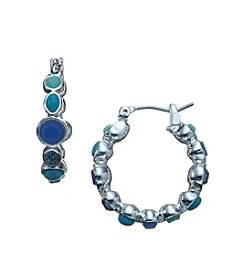 Nine West® Hoop Earrings