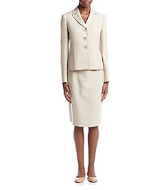 LeSuit® Tweed Skirt Suit Set