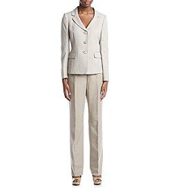 LeSuit® Three Button Jacket And Pant Suit Set