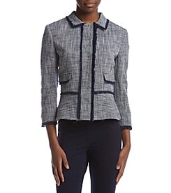 Ivanka Trump® Zip Front Jacket