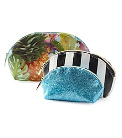 Tricoastal Pineapple Domed Cosmetic Bags