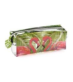 Tricoastal Flamingo Rectangle Cosmetic Bag