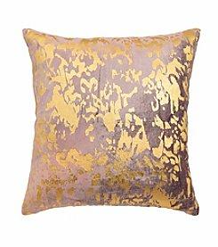 Blissliving Home® Aya Metallic Print Decorative Pillow