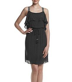 AGB® Gauzy Texture Dress