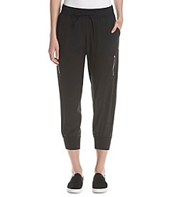 Ivanka Trump Athleisure® Slouchy Zip Pocket Capri