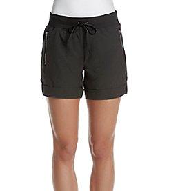 Ivanka Trump Athleisure® Zip Pocket Cuffed Shorts