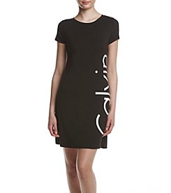Calvin Klein Logo Side Knit Dress