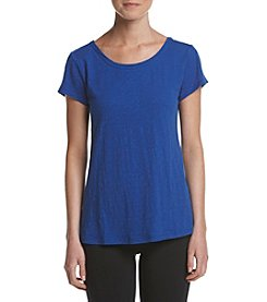 Calvin Klein Performance Criss Cross V Back Swing Tee