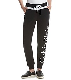 Calvin Klein Performance Logo Contrast Trim Pants