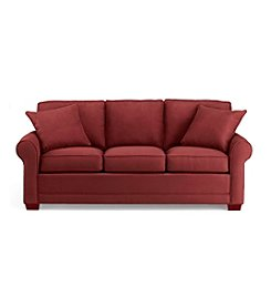 HM Richards Benson Cardinal Red Sofa