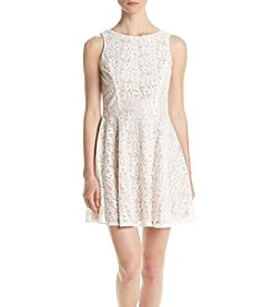 Swat Lace Skater Dress