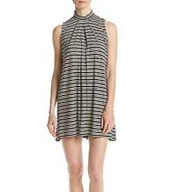 Swat Stripe Knit Dress