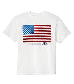 Exertek® Boys' 8-20 Americana Flag Tee