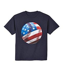 Exertek® Boys' 8-20 Patriot Stitch Tee