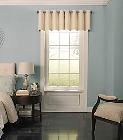 Beauty Rest Malbrouk Blackout Grommet Window Valance
