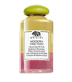 Origins Modern Friction™ Cleansing Oil With Radiance Boosting White And Purple Rice