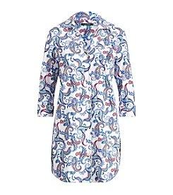 Lauren Ralph Lauren® Notch Collar Sleepshirt