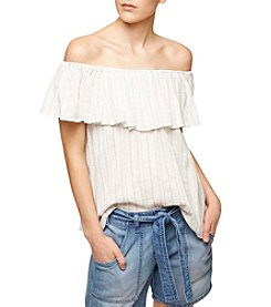 Sanctuary® Stripe Off-Shoulder Top