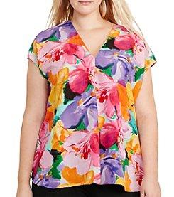 Lauren Ralph Lauren® Plus Size Floral-Print Top