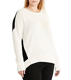 Lauren Ralph Lauren® Plus Size Colorblocked Sweater