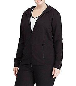 Lauren Ralph Lauren® Plus Size Mesh-Trimmed Hoodie