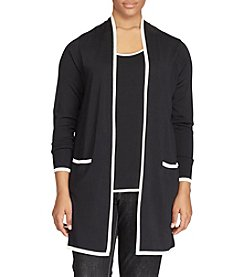 Lauren Ralph Lauren® Plus Size Colorblocked Cardigan