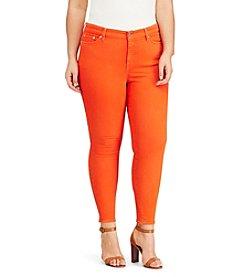 Lauren Ralph Lauren® Plus Size Premier Skinny Ankle Jeans