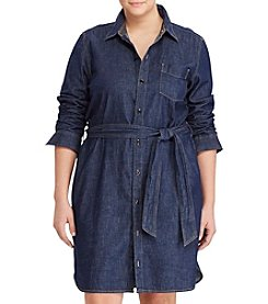 Lauren Ralph Lauren® Plus Size Denim Shirtdress