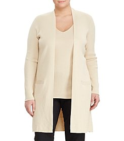 Lauren Ralph Lauren® Plus Size Elongated Cardigan