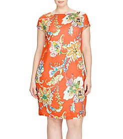 Lauren Ralph Lauren® Plus Size Floral Shift Dress