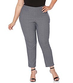 Rafaella® Plus Size Skinny Ankle Supreme Pants