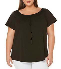 Rafaella® Plus Size Off The Shoulder Top