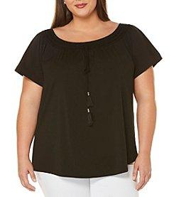 Rafaella® Plus Size Off The Shoulder Top