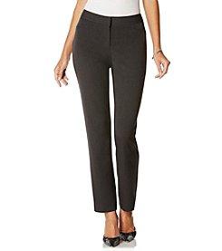 Rafaella® Petites' Curvy Fit Slim Leg Pants