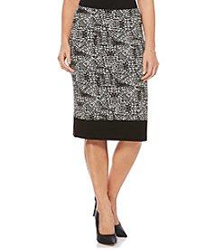 Rafaella® Petites' Distressed Tie Path Skirt