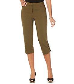 Rafaella® Petites' Satin Twill Pants