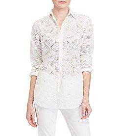 Lauren Ralph Lauren® Eyelet Shirt