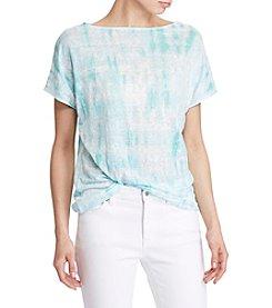 Lauren Ralph Lauren® Tie-Dye Knit Top