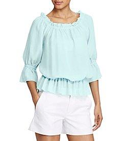Lauren Ralph Lauren® Off-The-Shoulder Top