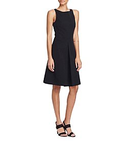 Lauren Ralph Lauren® Stretch Twill Fit-And-Flare Dress