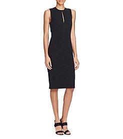 Lauren Ralph Lauren® Stretch Twill Sheath Dress