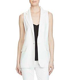Lauren Ralph Lauren® Stretch Crepe Vest