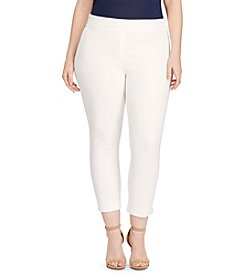 Lauren Ralph Lauren® Plus Size Stretch Skinny Pants