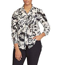 Lauren Ralph Lauren® Plus Size Paisley Shirt