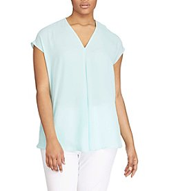 Lauren Ralph Lauren® Plus Size Short-Sleeve Top