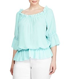 Lauren Ralph Lauren® Plus Size Off-The-Shoulder Top