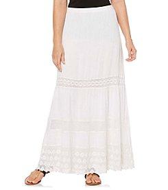Rafaella® Petites' Broomstick Skirt