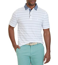 Nautica® Classic Fit Striped Polo Shirt