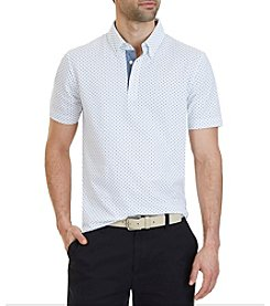 Nautica® Classic Fit Dotted Polo Shirt