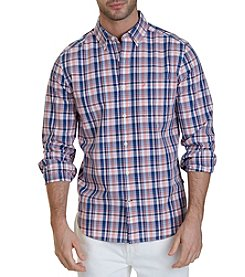 Nautica® Classic Fit Boardwalk Plaid Shirt